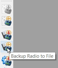 Backup Radio to File
