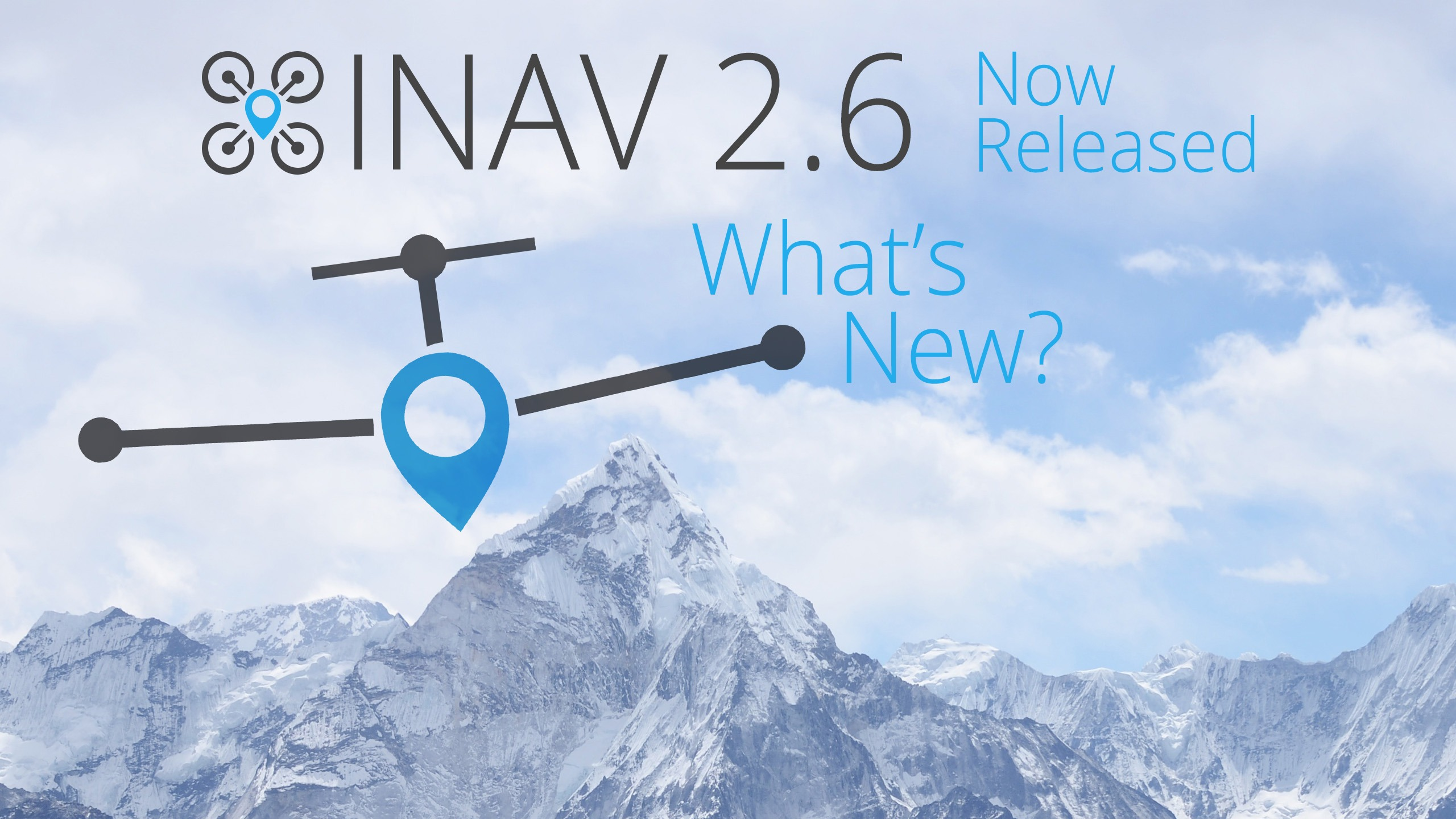 iNav 2.6 release, what's new?